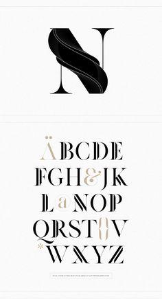 Anthony James on Behance Brand Identity Design, Branding Design, Corporate Branding, Gfx Design, Type Design, Design Art, Calligraphy Tutorial, Design Graphique, Typography Inspiration