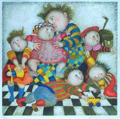 Limited Edition Print Mothers Day by Graciela Rodo Boulanger