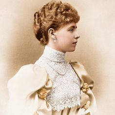 About Romania and Her People: Queen Marie of Romania (Part Queen Mary, King Queen, Michael I Of Romania, Romanian Royal Family, Christian Ix, 1890s Fashion, Future Wife, Royal Weddings, Lady And Gentlemen