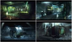 Alien Isolation Concept Art 8