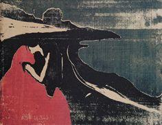 """ Melancholy II, Edvard Munch, 1898. """
