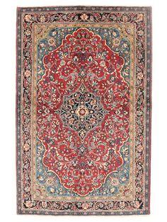 Tapis persans - Sarough  Dimensions:212x135cm