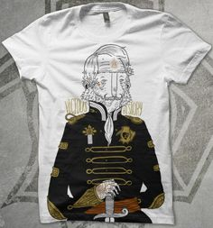 MuttonMock vivious history apparel tee shirt streetwear artist illustration clothing