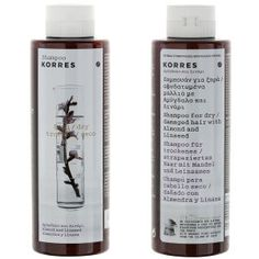 Korres Shampoo Almond and Linseed For Dry/Damaged Hair (250ml): Image 1
