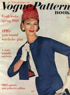 Feb March 1960 Vogue Pattern Magazine