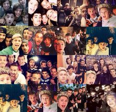notice that Niall took almost all the one direction selfies we have. Can we get this kid an award pls