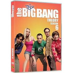 The big bang #theory - #season 6 - #(dvd) - new,  View more on the LINK: http://www.zeppy.io/product/gb/2/181875142542/