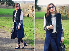 Get this look: http://lb.nu/look/8060890  More looks by Elena Sandor: http://lb.nu/eatweartravel  Items in this look:  Sheinside Coat, Darling Shirt, Zara  Trousers, Zara Necklace, Hobbs Heels, Make Accesories  Bag, Calvin Klein Watch, Banana Republic  Sunnies   #casual #elegant #romantic #fur #glam #glamorous #smartcasual #evening #feminine