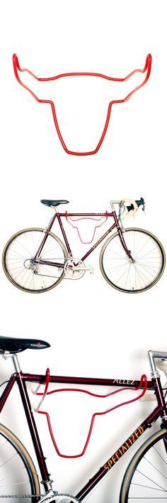 Bull's Head Bike Rack