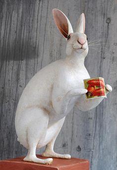 Papier Mâché Hare
