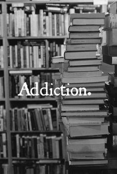 I admit it.....Yes I am addicted to buying and reading books.  Thankfully IT'S not illegal :-)