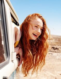 """Sophie Turner by Colin Leaman for ASOS Magazine (Summer Hair Color Auburn, Auburn Hair, Red Hair Color, Teal Hair, Sophie Turner, Beautiful Red Hair, Beautiful Redhead, Redhead Facts, Ginger Hair Color"