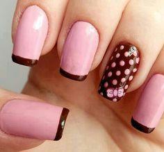 Marrom com rosa!
