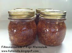 Fig Marmalade, Figs, Jelly, Salsa, Mason Jars, Cheese, Homemade, Canning, Eat