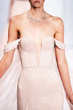 — Detail at Ralph & Russo Haute Couture Fall/Winter...