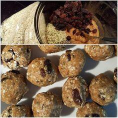 cricket powder, cricket flour, works wonders in these breakfast balls