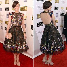 Marion Cotillard at Critics' Choice Awards 2013   POPSUGAR Fashion