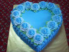every celebration with bakerina. Heart Shaped Birthday Cake, Heart Shaped Cakes, Heart Cakes, Latest Birthday Cake, Valentine Cake, Valentine Heart, Valentines, Flower Basket Cake, Sweet Sixteen Cakes