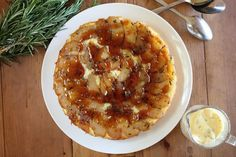 Apple, Rosemary and Olive Oil Cake - Maggie Beer
