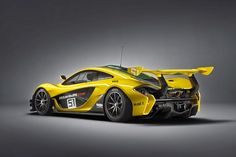The ultimate race car from McLaren is finally here. In a press release issued today, the McLaren GTR was introduced to the world as a track-limited Mclaren P1 Gtr, Mclaren Sports Car, New Mclaren, Mclaren Cars, Gt R, Pebble Beach, Automobile, Ferrari Fxx, Car Hd