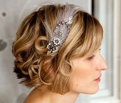 Short Hairstyles for Wedding Women 2013