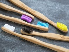 These bamboo toothbrushes, discovered by The Grommet, are eco-friendly and as good for the planet as they are for your smile.