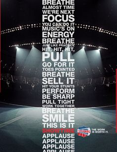 National Cheerleaders Association: Stage.