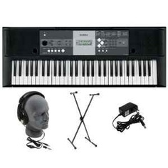 Yamaha YPT-230 Premium Keyboard Pack with Headphones, Power Supply, and Stand