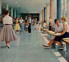 Como Park Junior High - St. Paul, MN 1958