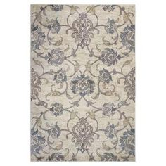 Kas Rugs Willowdale Ivory 9 ft. x 13 ft. Area Rug ZAR750989X13 at The Home Depot - Mobile