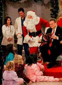 The way Christmas use to happen at GH