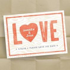 wedding postcard save-the-dates