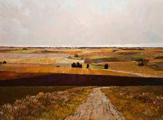 Prairie Fields, by Min Ma