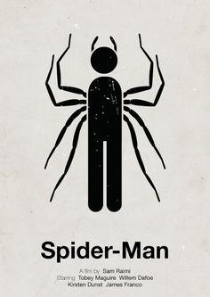 Viktor Hertz - Poster de filme em versão minimalista