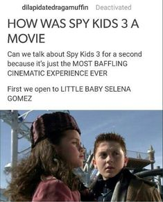 Hilarious Tumblr Thread Details How Ridiculous The 'Spy Kids 3' Movie Really Is