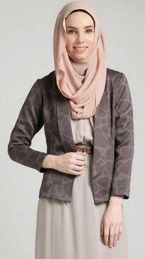 Model blazer kerja muslim desain 2015