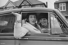 English bass guitarist for 'The Who' John Entwistle and Alison Wise, 17th March 1967.