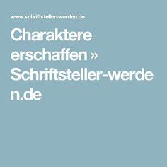 Charaktere erschaffen » Schriftsteller-werden.de