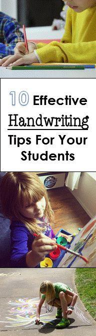10 Effective Handwri