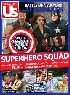 What Headlines Would Look Like If The Avengers Were Real -  This is amazing. I would totally read it.