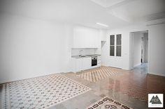 Reforma integral vivienda en Ruzafa (Valencia) realizado por la empresa reformas MDF Construcción.