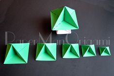 38 Super Ideas for origami christmas tree tutorial xmas Origami Fish Easy, Origami Butterfly, Origami Stars, Origami Flowers, Origami Christmas Ornament, Origami Ornaments, Christmas Trees, Christmas Ornaments, Origami Owl Games