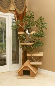 Awesome Cat Tree. I want one!