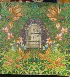 Amazon.com: Secret Garden: An Inky Treasure Hunt and Coloring Book…