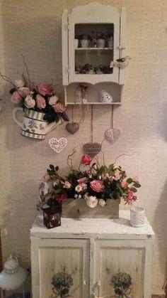 #home #decoration #ideas #roses #pink #vintage