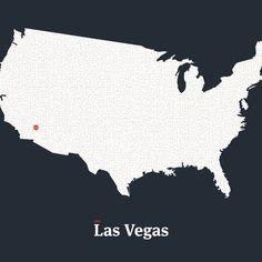 All roads lead to Vegas - in petrol blue and white #mickallan #maze #interactiveart #mazartlove #usa #vegas #artwork #map http://ift.tt/1SVNMmc