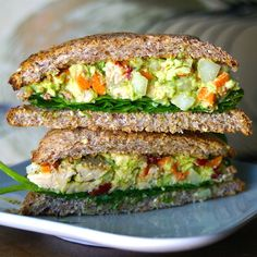 Margaret's Dish: Tempeh Salad Sandwich, Hold the Mayo!