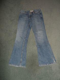Womens Blue Denim BKE SASSY SHORT Boot Cut Country Western Jeans, Size 27 X 29.5 #BKESASSYSHORT #BootCutCountryWesternStitchedJeans
