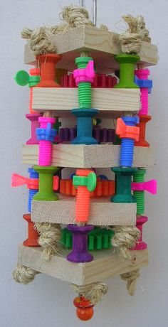 TNT Toys - Toys For Medium Birds