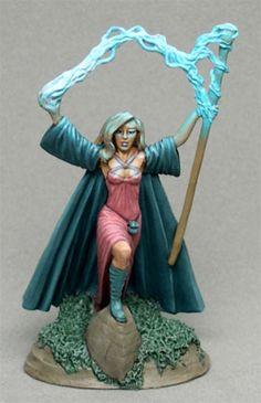 Castle of Deception - Female Wizard - Elmore Masterworks - Miniature Lines